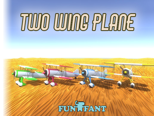 Two Wing Plane PBR