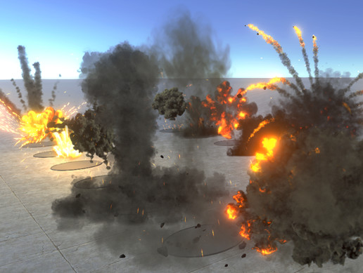 HQ Realistic explosions