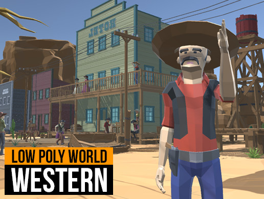 LOW POLY WORLD - WESTERN