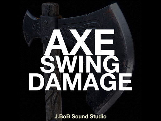 Axe Swing & Damage Sounds