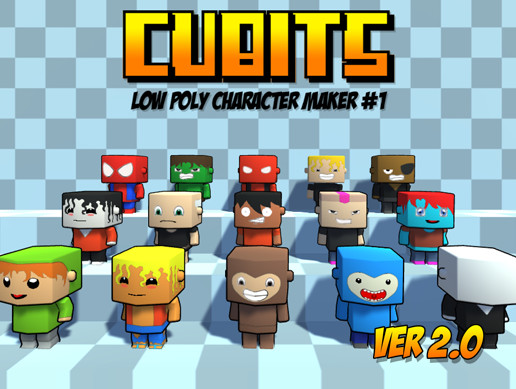 Low Poly People Pack #1 (Cubits #1 Ver  2 0) - Asset Store