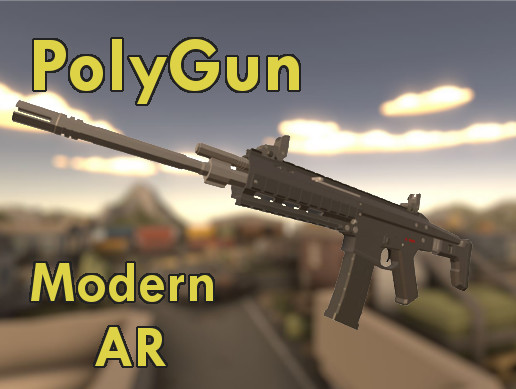 Polygun Modern Assault Rifle Pack