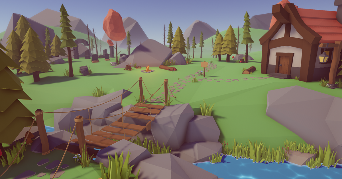 Low-Poly Nature Pack