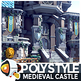 POLYSTYLE - Medieval Castle
