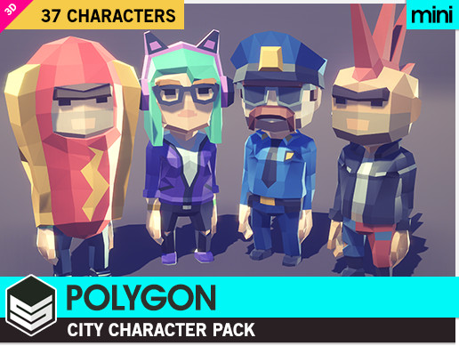 POLYGON MINI - City Character Pack