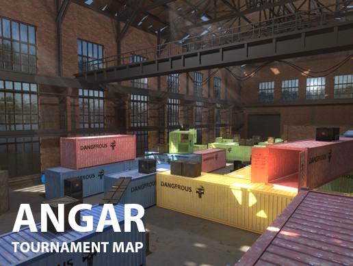 FPS Hangar - tournament map