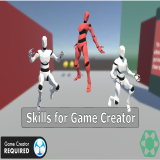 Skills for Game Creator