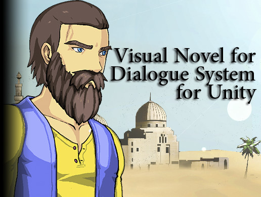 Live2D Supported Visual Novel for Dialogue System for Unity with JRPG Style Conversation