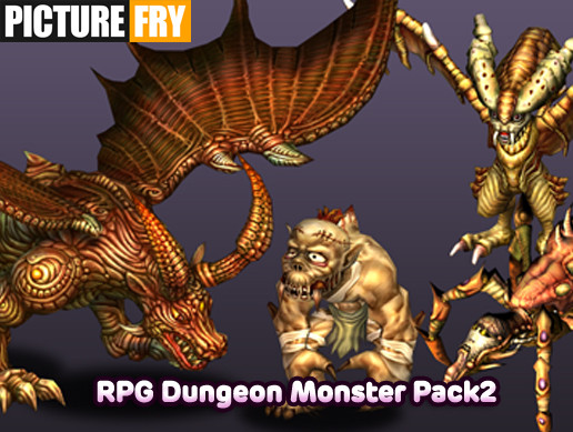 RPG Dungeon Monster Pack2