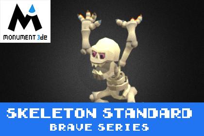 Catacomb Skeleton Standard - Brave Series