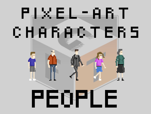 Pixel Art Characters - People pack