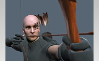 Archer Animated Character