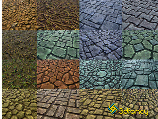 Hand Painted Textures Pack