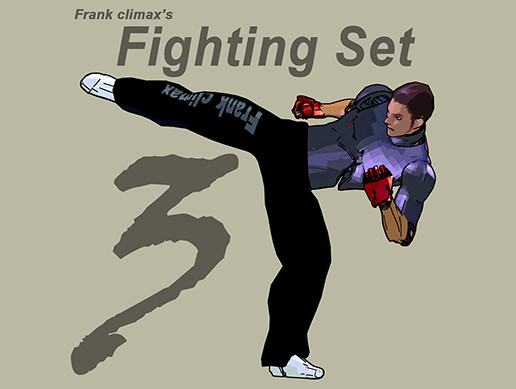 Frank Fighting Set 3