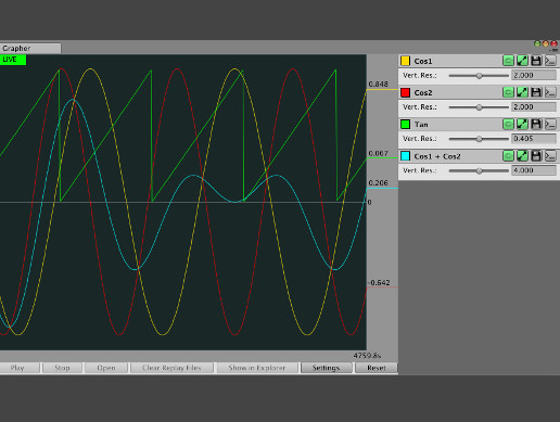 Grapher - Graph, Replay, Log