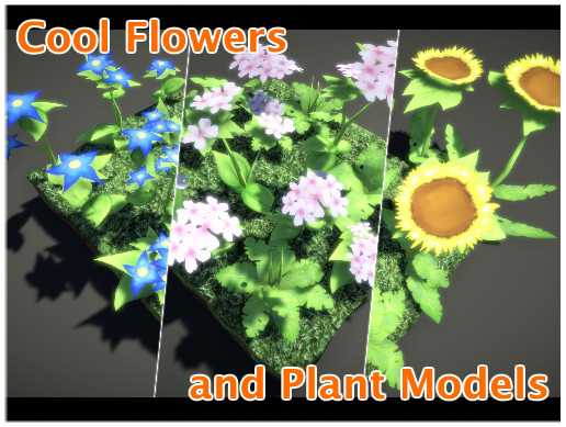 The Cool Flowers & Plants Pack