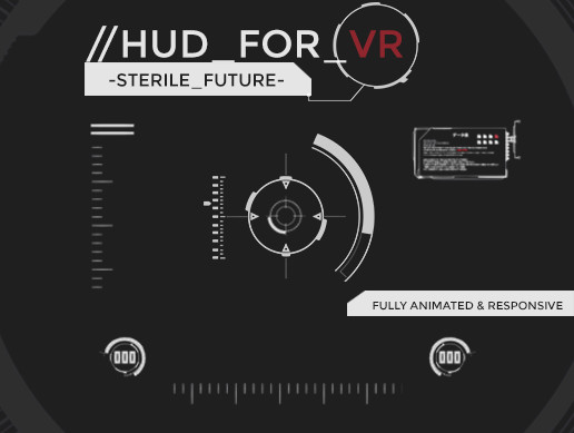 HUD for VR - Sterile Future