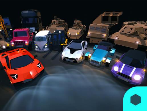 3D Models Prop Car 15 Set Pack01