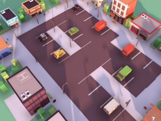 Low Poly City - Colority