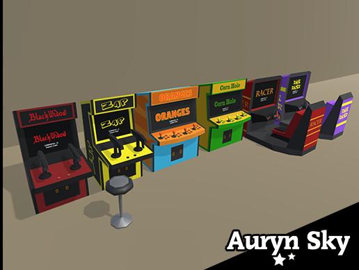 Simple Arcade Machines Pack 2