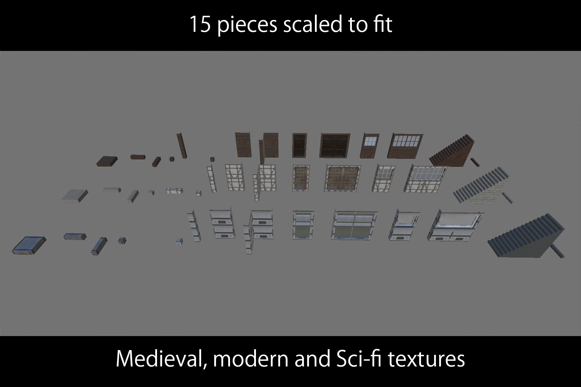 Prototyping tools - Modular environment set