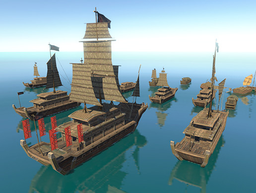 Ancient Ship pack