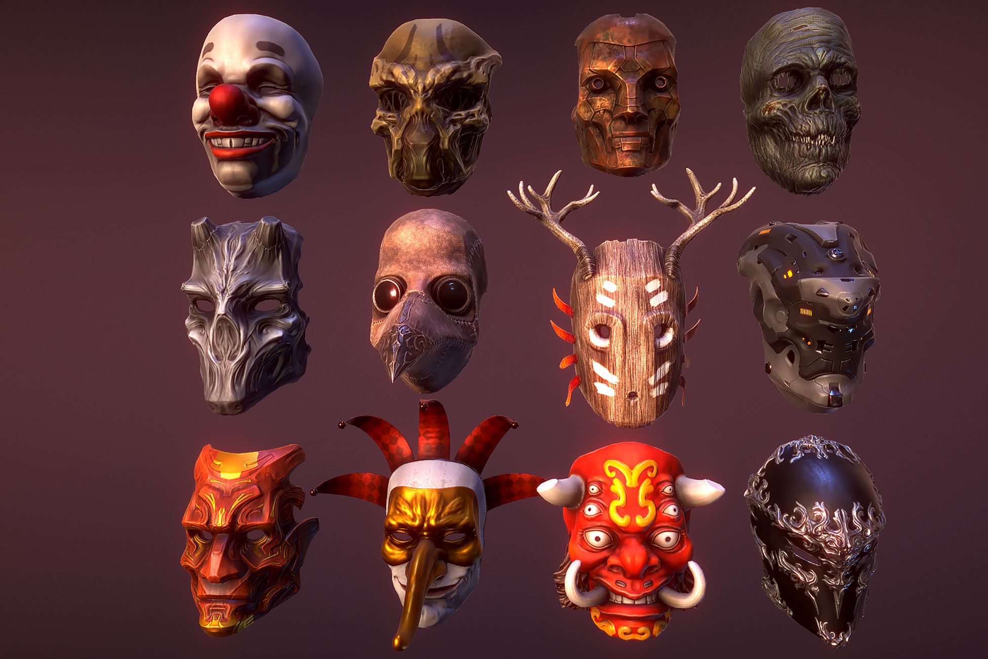 Masks pack 2