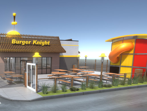Complete Fast Food Restaurant
