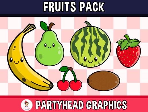 Fruits Pack (Assets For Children´s Games)