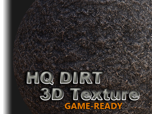 Dirt 01 Game-Ready