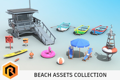 Beach Assets Collection 1