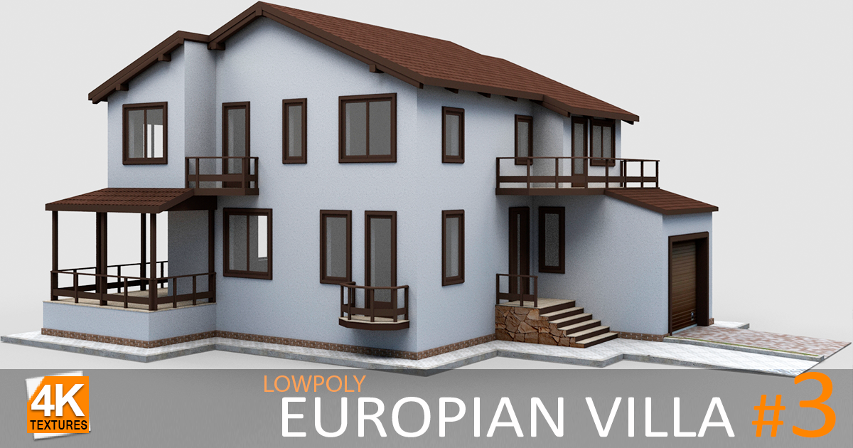 European Villa #3