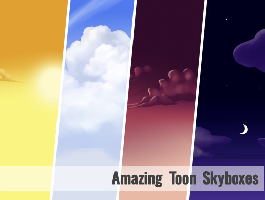 Toon Skyboxes