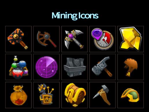 Mining Icons 1