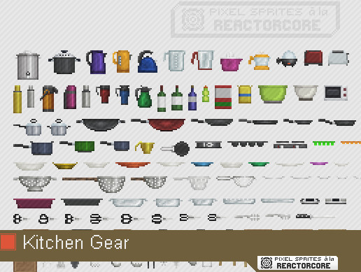 PSRC: Kitchen Gear