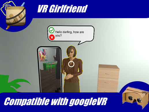 VR Girlfriend doll and room