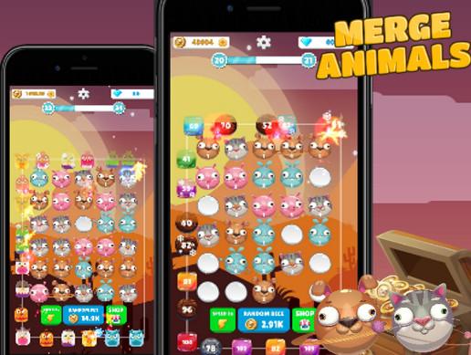 Merge Animals - Tower Defense