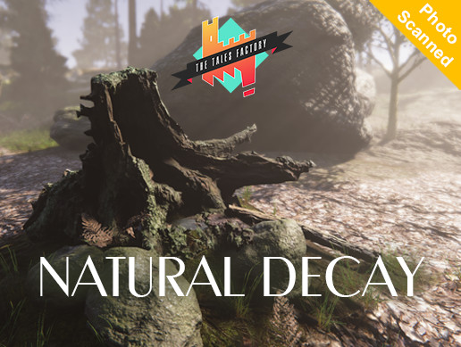 NaturalDecay: photoscanned & PBR vegetation Assets
