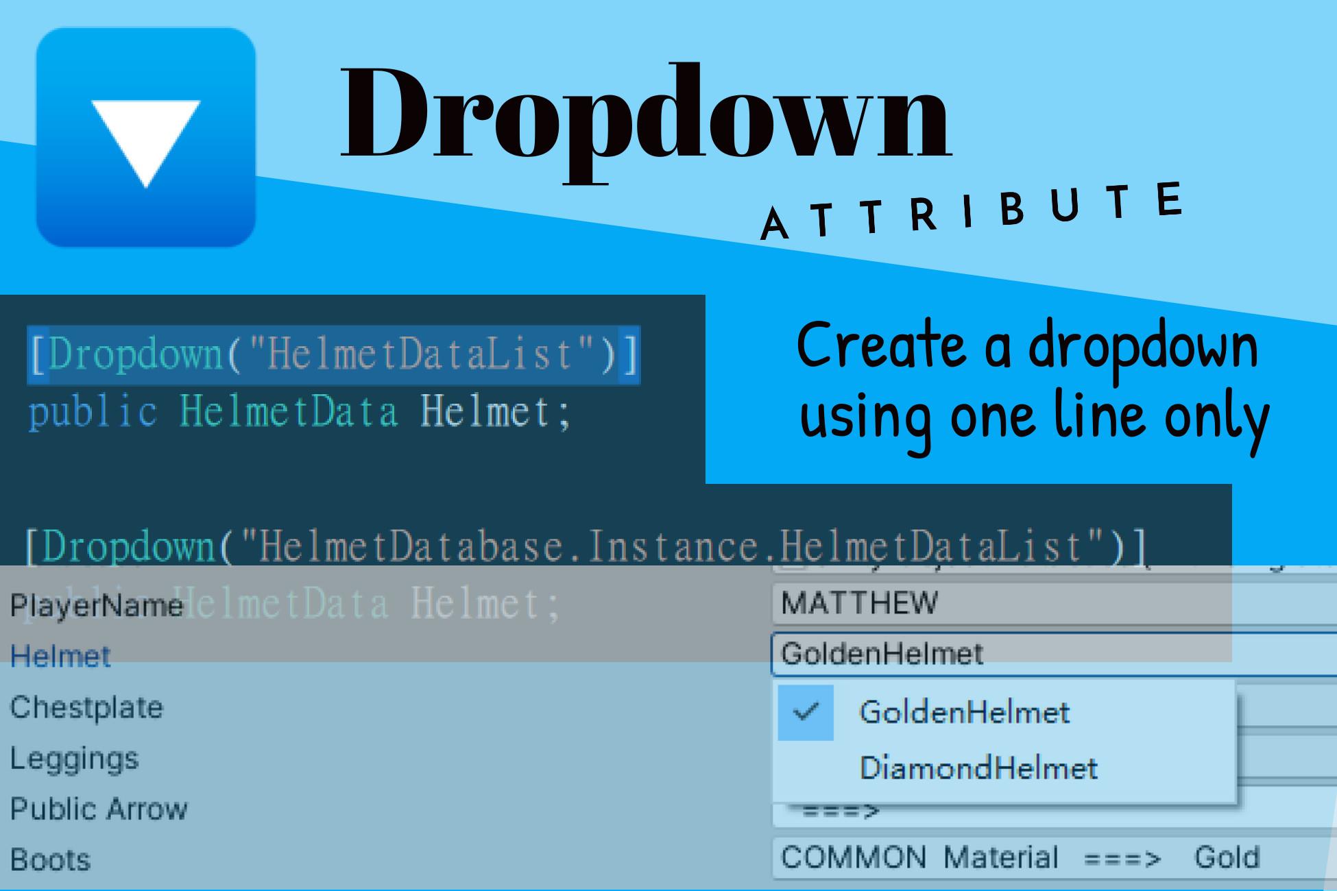 Dropdown Attribute