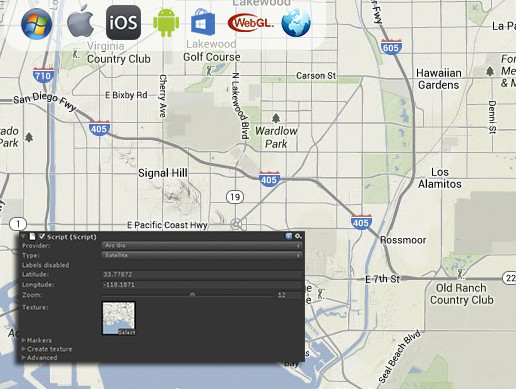 Online Maps - Asset Store