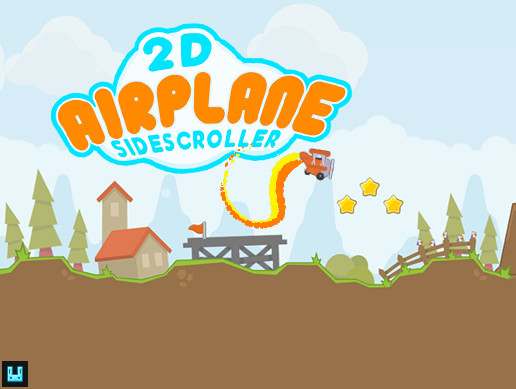 2D Airplane Sidescroller +Mobile