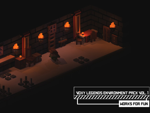 Voxy Legends Environment Pack vol. 1