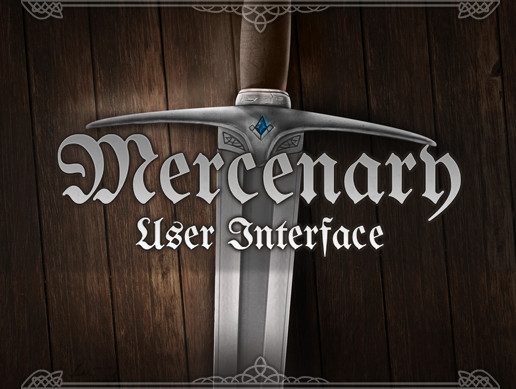 Mercenary RPG User Interface