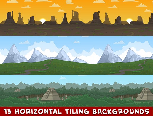 Cartoon tiling backgrounds (15)