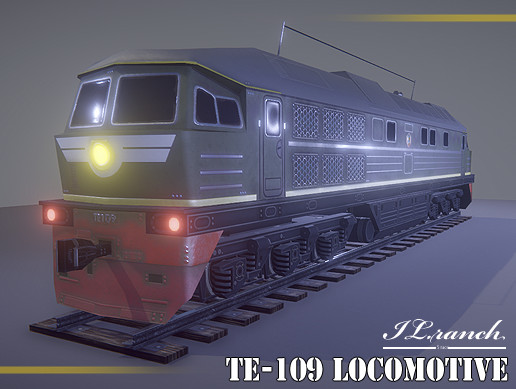 TE-109 (Soviet Locomotives)