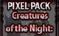 Creatures of the Night: VAMPIRES [Pixel Art]