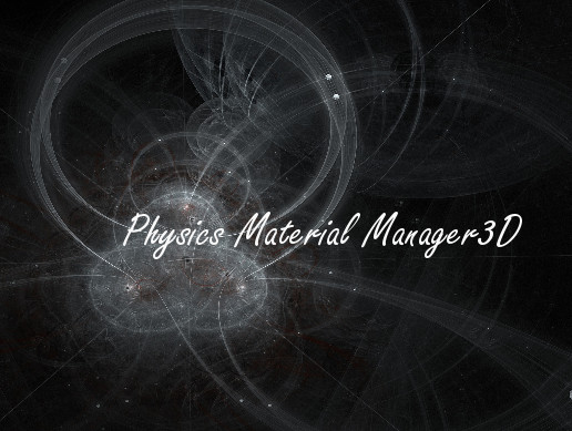 Physics Material Manager3D