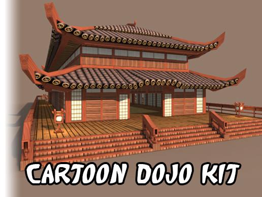 Cartoon Dojo Kit