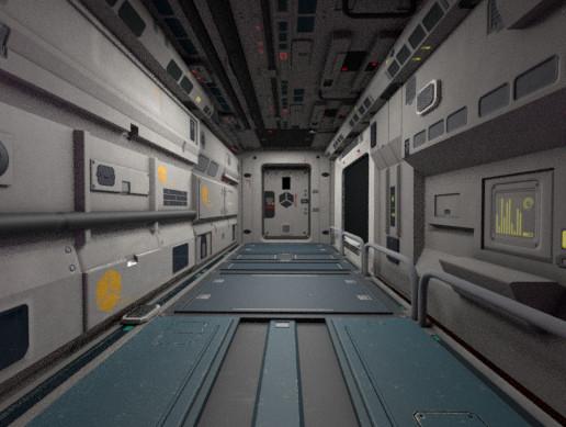 Modular Sci-Fi Corridor Full Pack