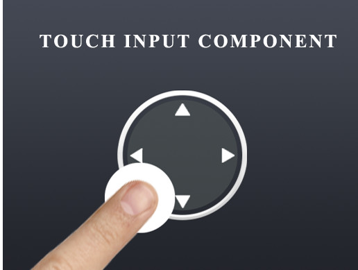 UGUI Touch Input Component